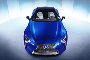 Foto Exteriores (14) Lexus Lc500-h Cupe 2016
