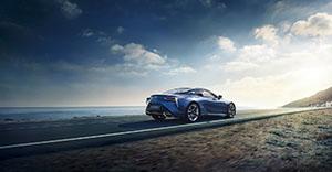 Foto Exteriores (5) Lexus Lc500-h Cupe 2016