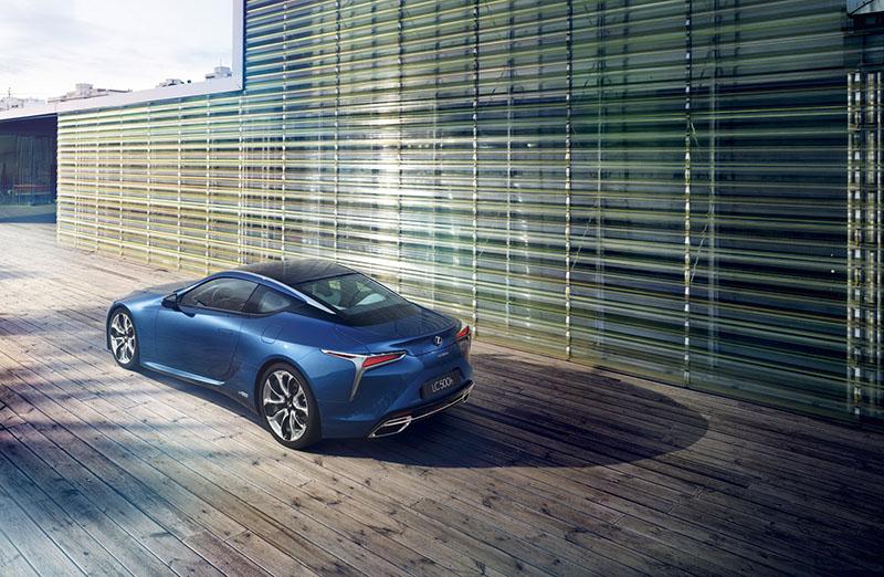 Foto Exteriores Lexus Lc500 H Cupe 2016
