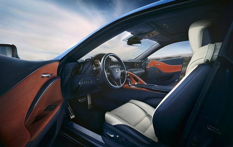 Foto Interiores Lexus Lc500 H Cupe 2016