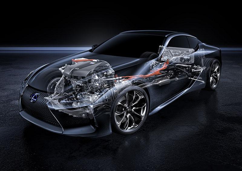 Foto Tecnicas (1) Lexus Lc500-h Cupe 2016
