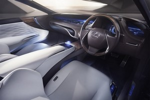 Foto Salpicadero Lexus Lf-fc Concept 2015