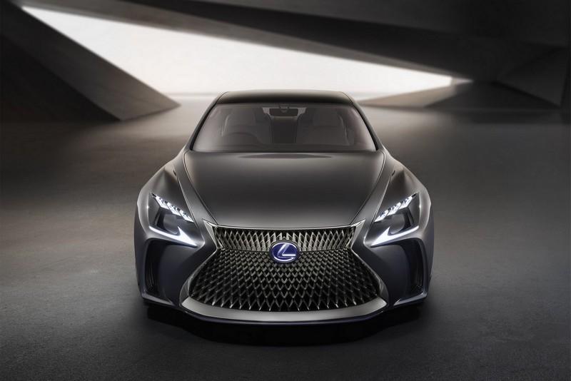 Foto Delantera Lexus Lf Fc Concept 2015