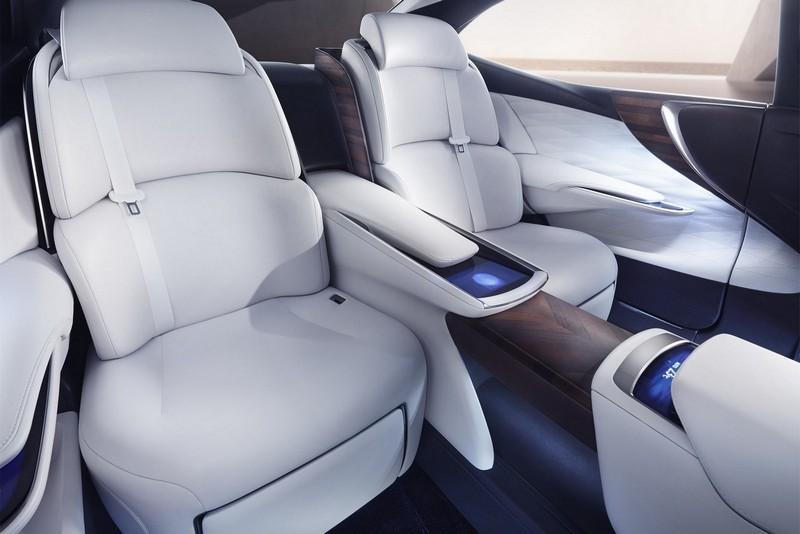 Foto Interiores Lexus Lf Fc Concept 2015
