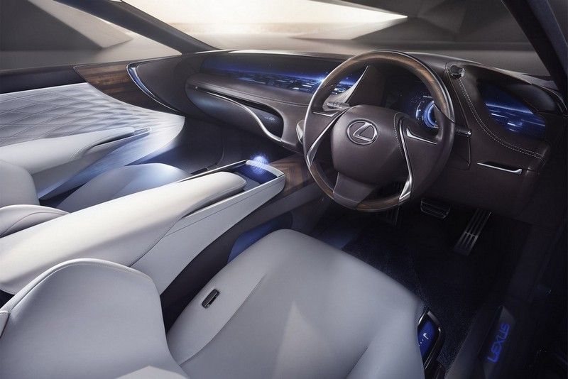 Foto Salpicadero Lexus Lf Fc Concept 2015