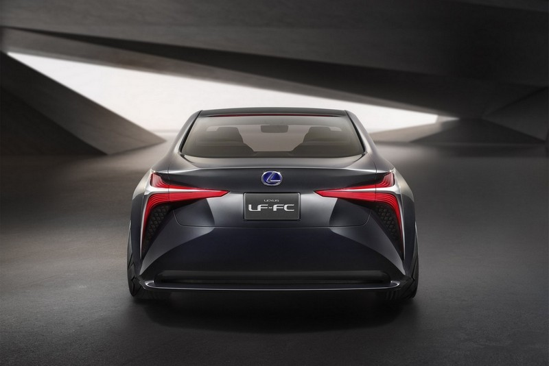 Foto Trasera Lexus Lf Fc Concept 2015