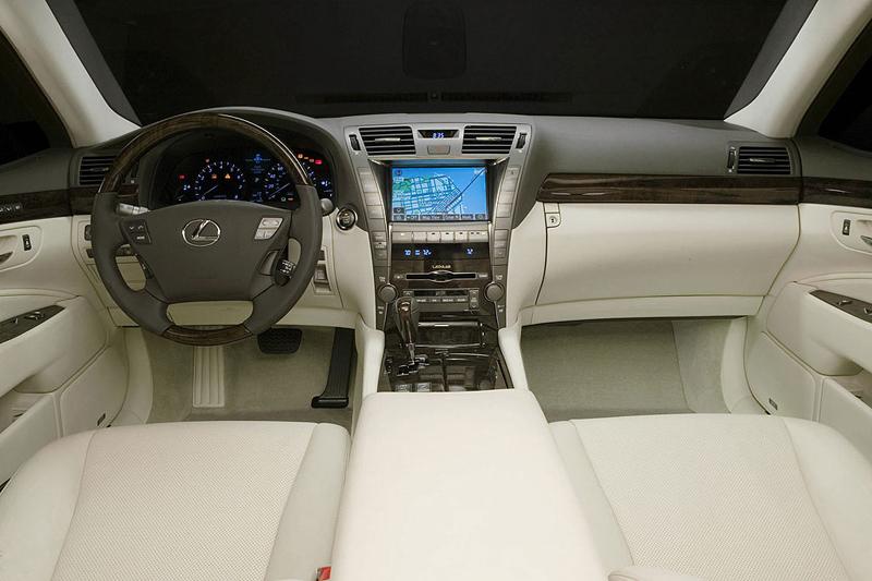 Foto Salpicadero Lexus Ls Sedan 2007
