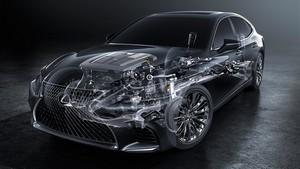 Foto Tecnicas Lexus Ls Sedan 2017