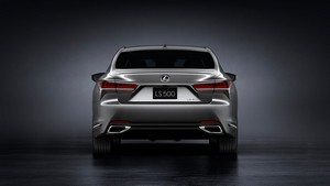 Foto Trasera Lexus Ls Sedan 2017