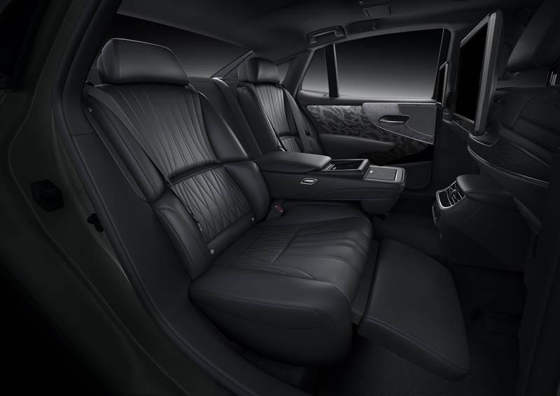 Foto Interiores Lexus Ls Sedan 2021