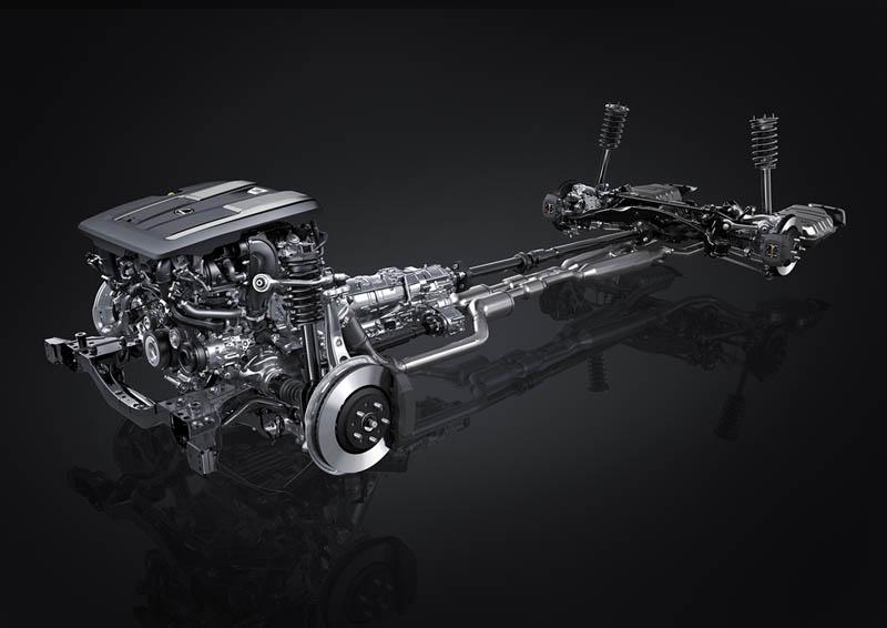 Foto Tecnicas Lexus Ls Sedan 2021