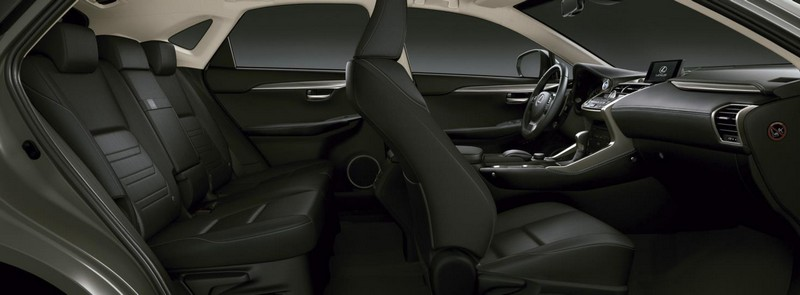 Foto Interiores Lexus Nx 300h Sport Edition Suv Todocamino 2017