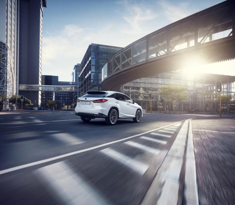 Foto Trasera Lexus Rx 450 H Suv Todocamino 2019