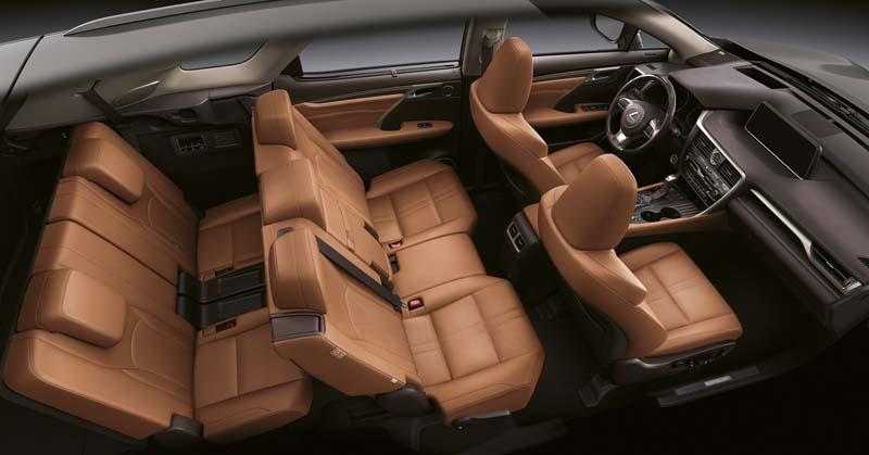 Lexus RX 450h L, foto asientos