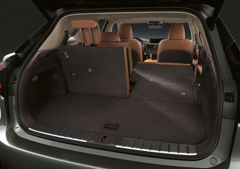 Lexus RX 450h L, foto maletero
