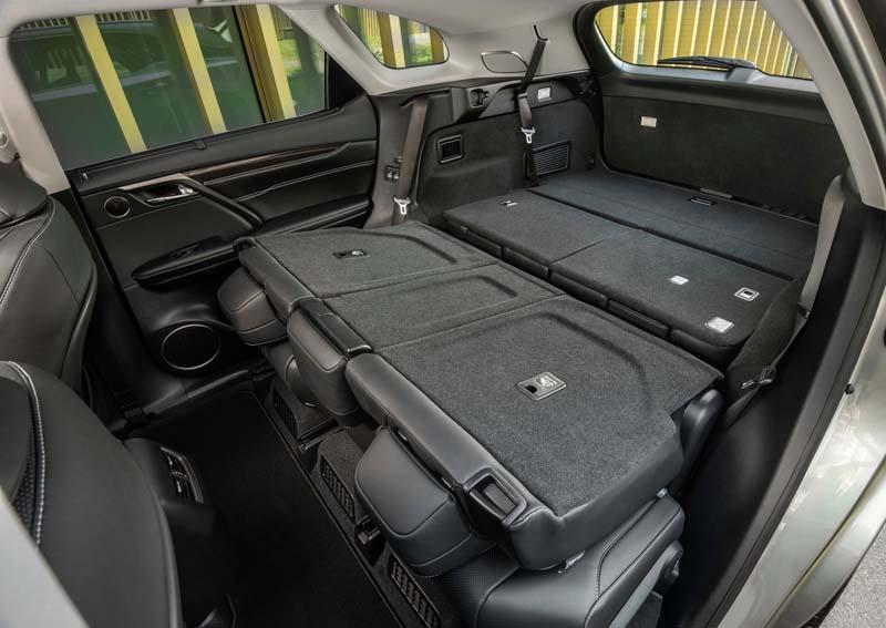 Foto Interiores Lexus Rx 450 H L Suv Todocamino 2018