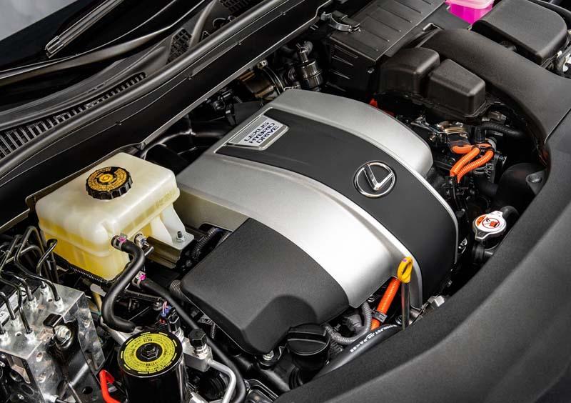 Lexus RX 450h L, foto motores
