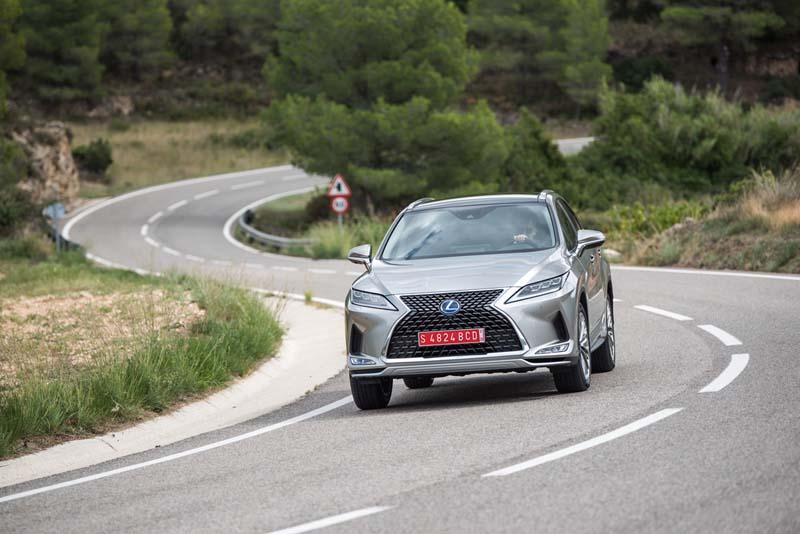 Foto Exteriores Lexus Rx 450h Suv Todocamino 2020