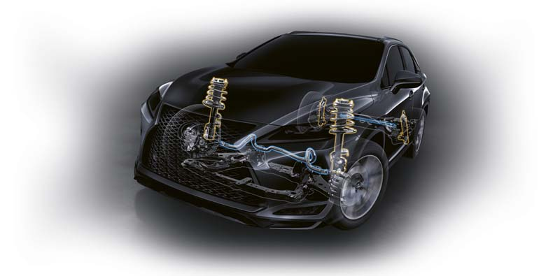 Lexus RX 450h 2020, foto chasis