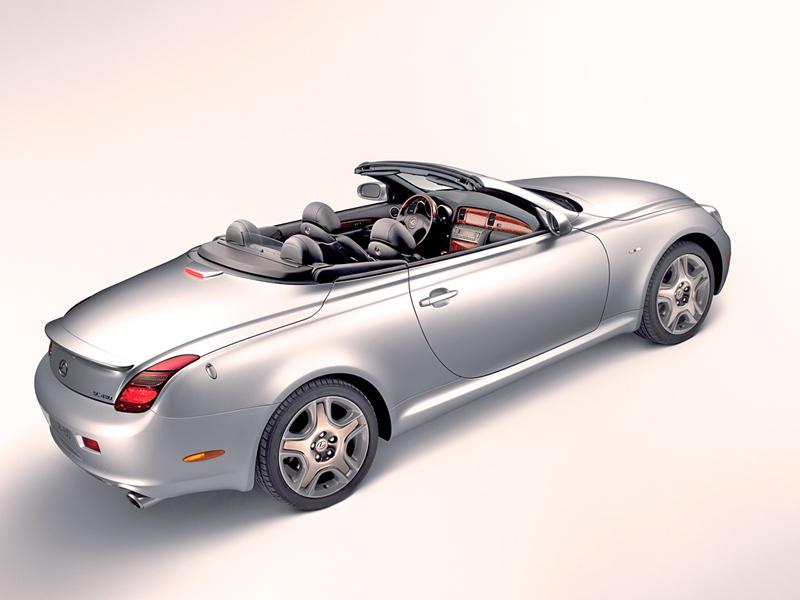 Foto Trasero Lexus Sc Descapotable 2006