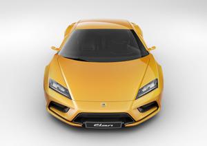 Foto Frontal Lotus Elan Concept 2010