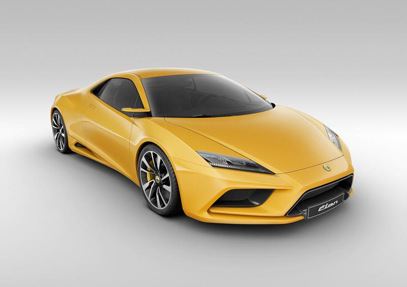 Foto Delantera Lotus Elan Concept 2010