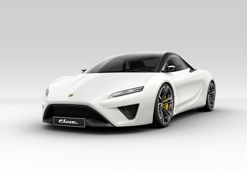 Foto Delantera Lotus Elise Concept 2010