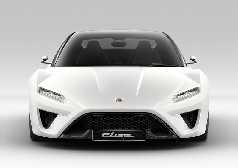 Foto Frontal Lotus Elise Concept 2010