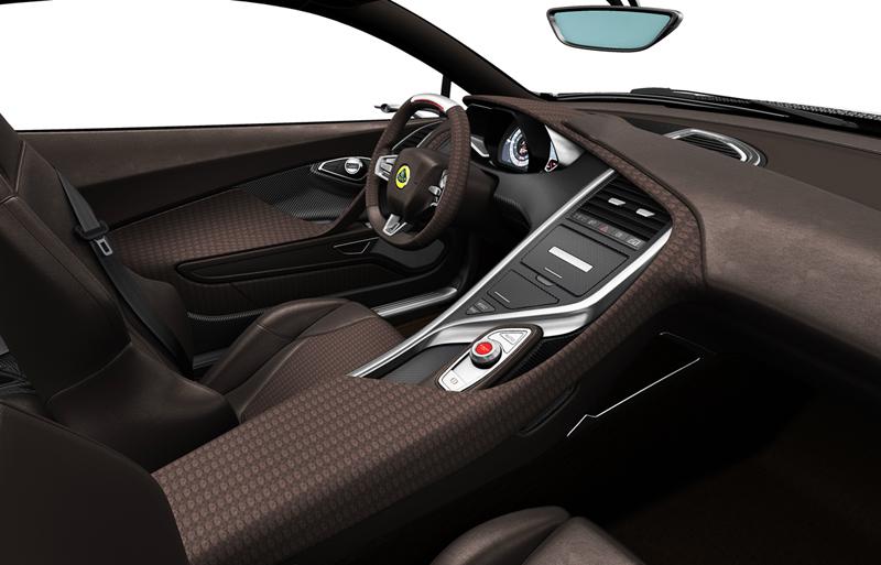 Foto Interiores Lotus Elise Concept 2010