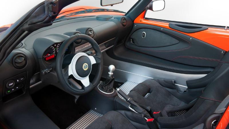 Interior Lotus Elise Cup 250