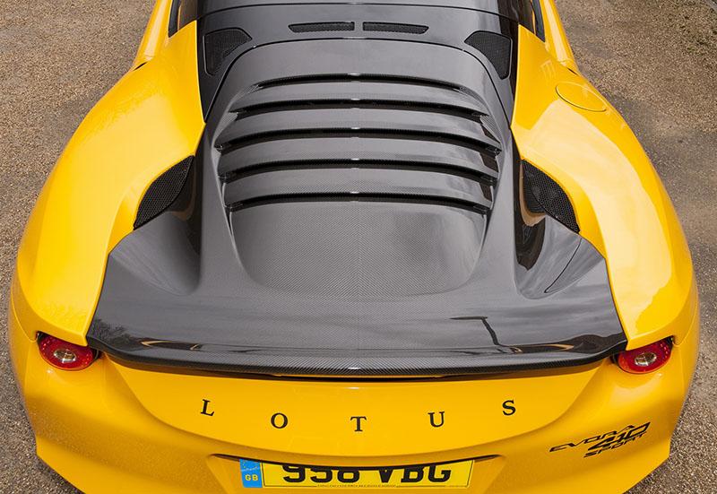 Foto Detalles Lotus Evora Sport 410 Cupe 2016