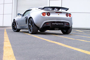 Foto Trasera Lotus Exige Cupe 2009
