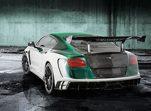 Foto Trasera Mansory Bentley-gt-race Sedan 2015