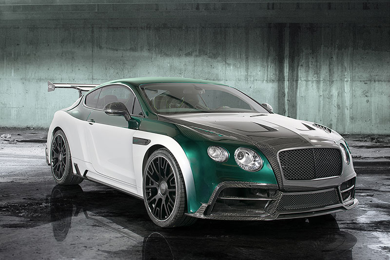 Foto Delantera Mansory Bentley-gt-race Sedan 2015