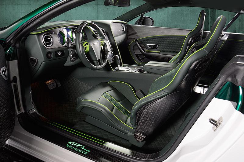 Foto Interiores Mansory Bentley Gt Race Sedan 2015