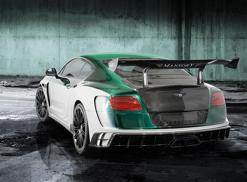 Foto Trasera Mansory Bentley Gt Race Sedan 2015