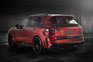 Foto Trasera Mansory Porsche-cayenne Suv Todocamino 2015