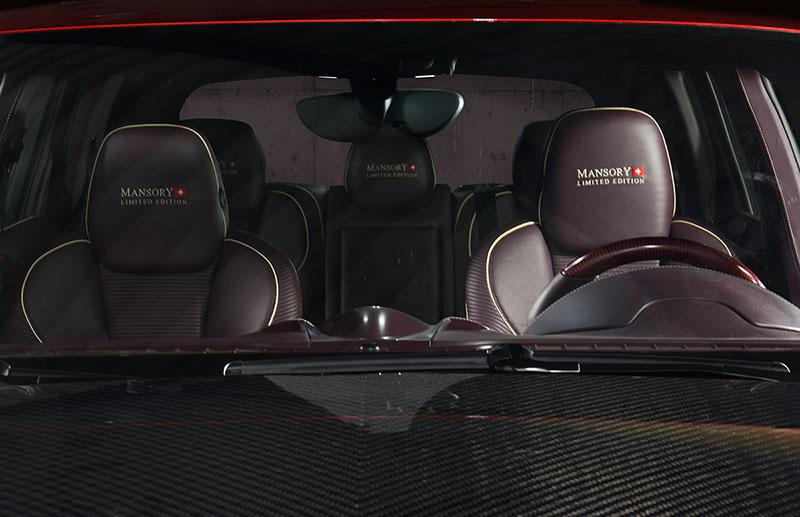 Foto Interiores Mansory Porsche Cayenne Suv Todocamino 2015