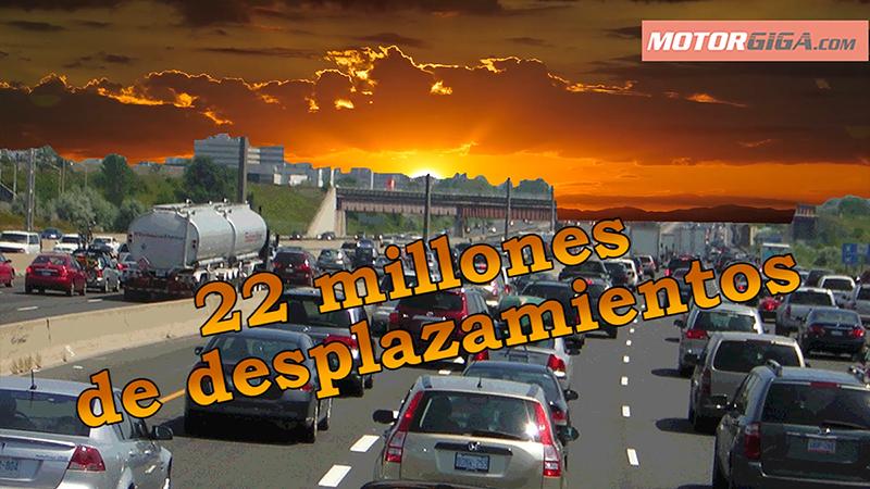 En 2016 hay previstos 22 millones de desplazamientos en verano