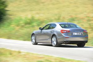 Foto Exteriores (10) Maserati Ghibli Sedan 2013