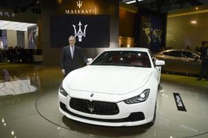 Foto Exteriores (5) Maserati Ghibli Sedan 2013