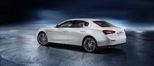 Foto Trasera Maserati Ghibli Sedan 2013