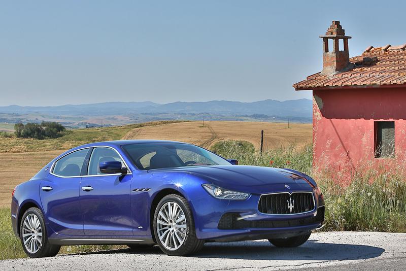 Foto Exteriores Maserati Ghibli Sedan 2013