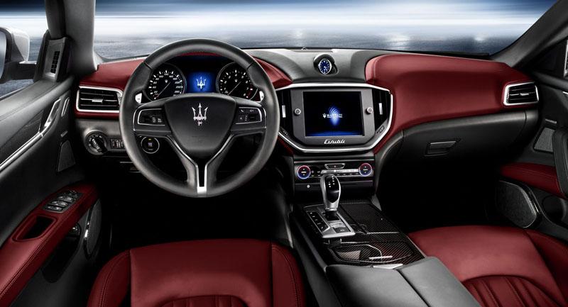 Foto Salpicadero Maserati Ghibli Sedan 2013