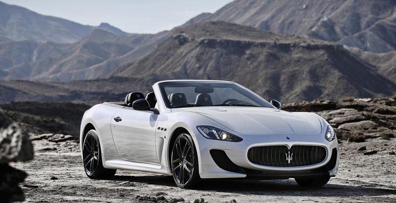 Foto Delantera Maserati Grancabrio Mc Descapotable 2012