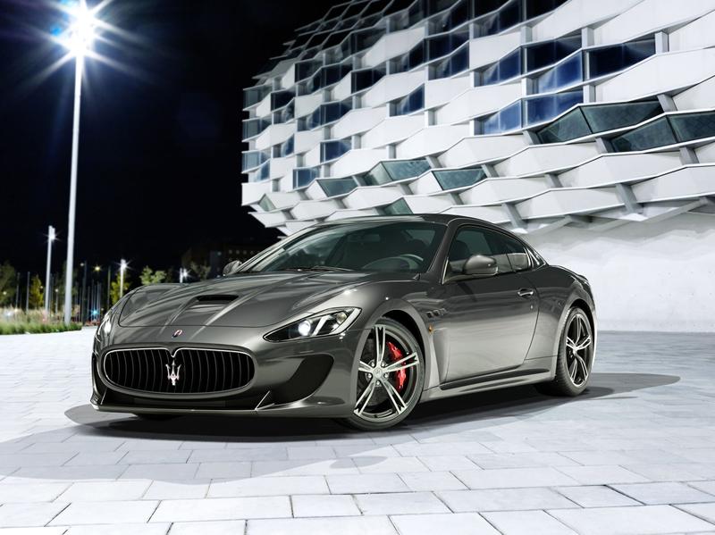 Foto Delantera Maserati Granturismo-mc-stradale Berlina 2013