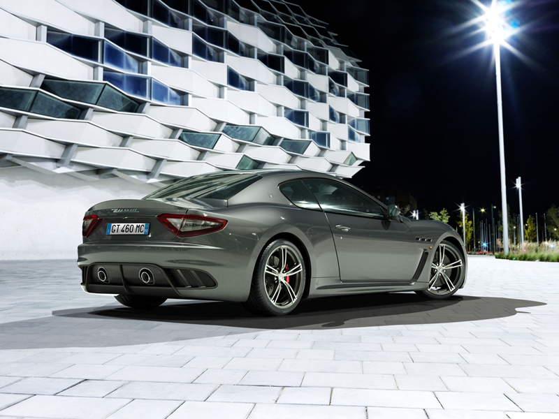 Foto Trasera Maserati Granturismo Mc Stradale Berlina 2013