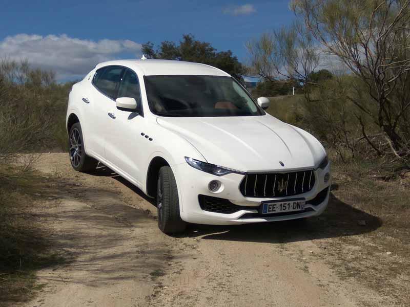 Prueba Maserati Levante diésel, foto delantera