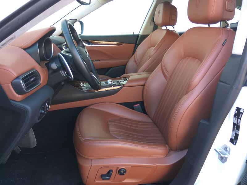 Foto Interiores Maserati Levante Suv Todocamino 2016