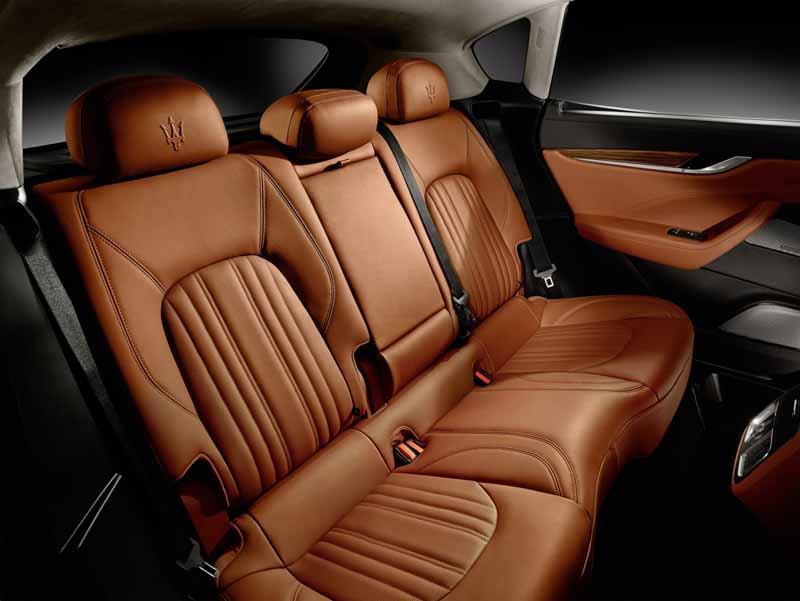 Prueba Maserati Levante diésel, foto interior